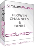 Pipe Flow Advisor Software for flow from open channels and tanks