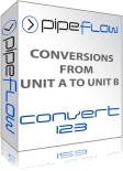 Convert123, Engineering Conversions between different measurements from unit A to unit B