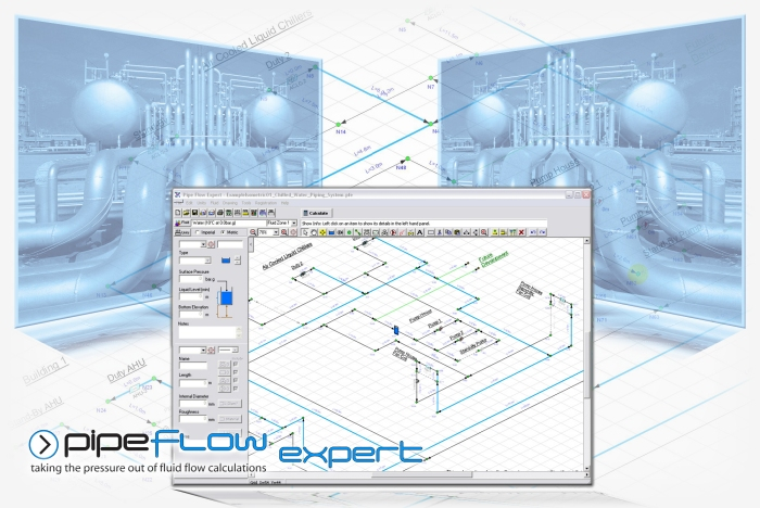 Brochure about Pipe Flow Expert Software for flow and pressure drop calculations