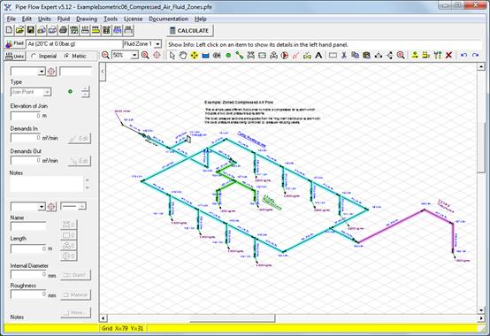 Pipe Flow Expert Software Isometric Example Systems Designs 1 To 6