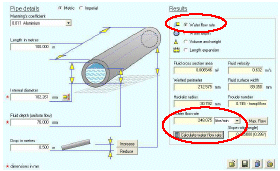 Water Channel Flow Rate Calculation